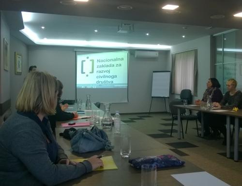 Dvodnevni trening u Slavonskom Brodu Udruge Brod – Grupe za Ženska ljudska prava