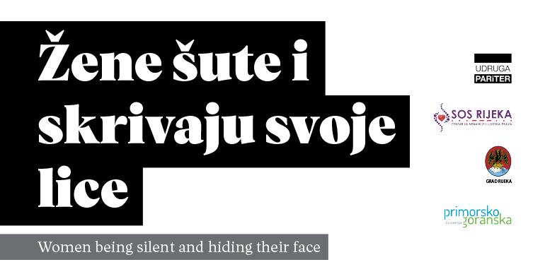 Žene šute i skrivaju svoje lice