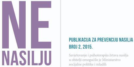 NE NASILJU – glasnik udruge SOS telefon – grad Rijeka